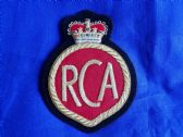 ROYAL CANADIAN ARTILLERY ( RCA ) BLAZER BADGE